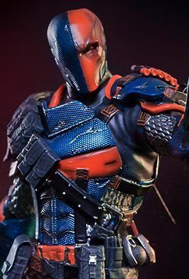 *PRE-ORDER* DEATHSTROKE: Batman Arkham Knight 1/10 Art Scale Statue By Iron Studios