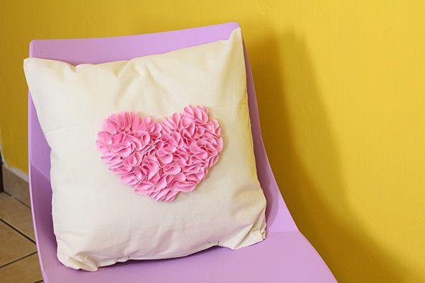 Almohadas para san valentin / Decorative pillows