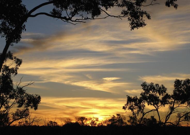 The sunsets in Koroit often are beautiful.  #koroit #opal #queensland #australia #sunset