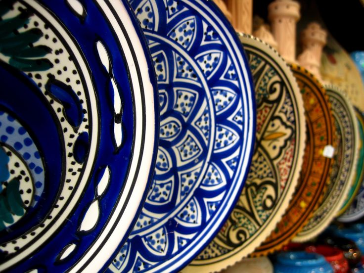 Tunisian plates & 34 best Tunisian plates images on Pinterest | Dishes Ceramic art ...