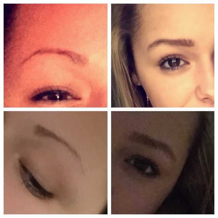 how to put makeup on thin eyebrows