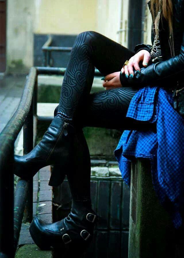 Velvet Swirl leggings (maybe)
