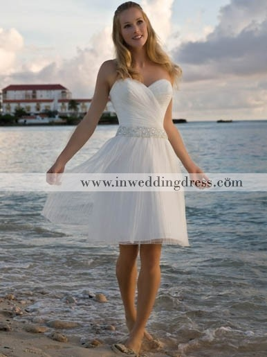 Short Summer Wedding Dress In White Gown For Beach Or Sexy Cute And Stunning To Select From