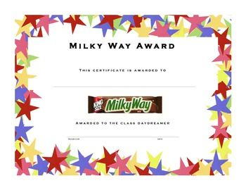 Paper plate awards on pinterest paper plate awards candy bar awards