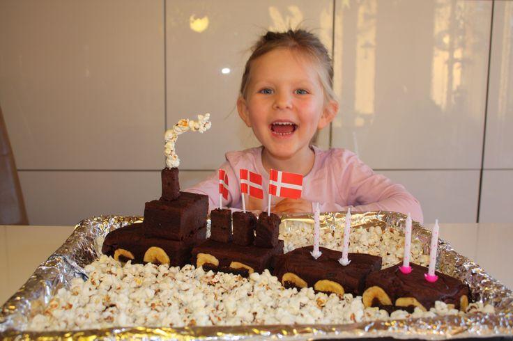 Traincake for her birthday.