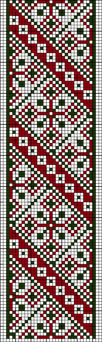 Pattern for my bead loom... or would make a kick-butt quilt pattern.