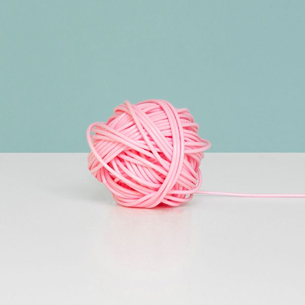 Pastel yarn