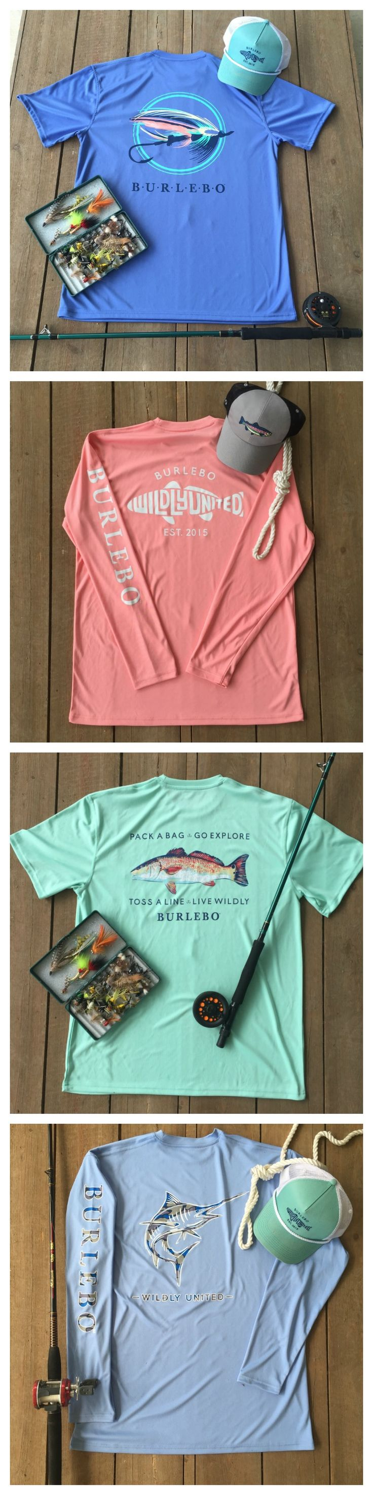 Performance Fishing Shirts that dad will love! Perfect gift for this Father's Day. Shop at Burlebo.com