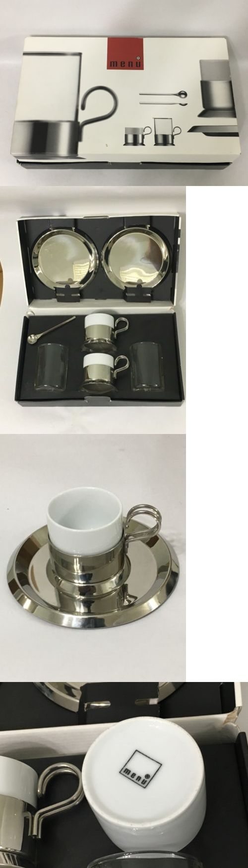 Mugs 20695: Menu Danish Steel House Espresso Tea Set By Scandinavian Designer Bent Falk -> BUY IT NOW ONLY: $49.99 on eBay!
