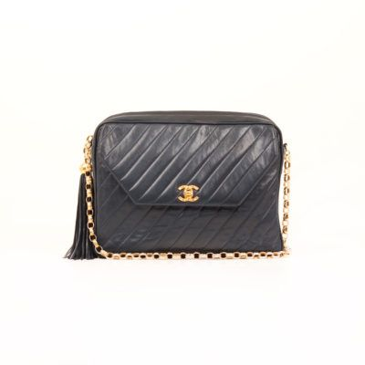 Chanel Camera Vintage Vertical Quilted | CBL Bags