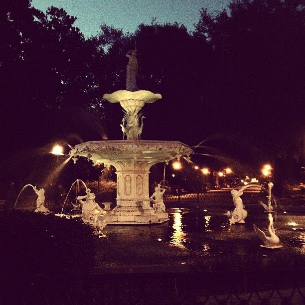 17 Best Images About Forsyth Park Fountain On Pinterest