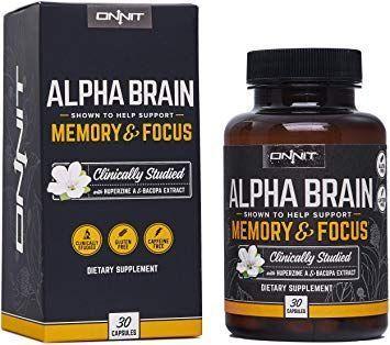 Buy Onnit Alpha Brain - Reviews 2018, Reddit, GNC, Amazon