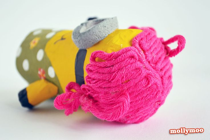 MollyMoo – crafts for kids and their parents Toilet Roll Crafts for Kids - Despicable Me Minions