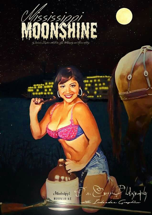 Mississippi Moonshine Moonshining river