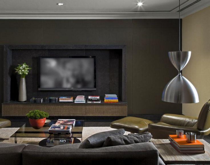Contoh Desain Ruang Keluarga Mewah Minimalis 8