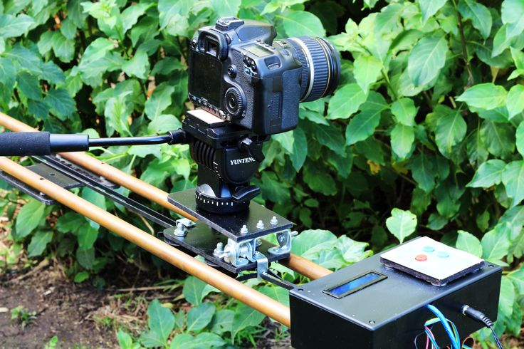 DIY camers slider. Controlled by an Arduno and stepper motor.