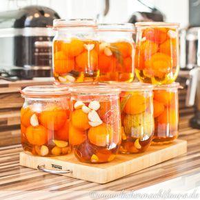 Süß-saure Tomaten {einmachwoche} | lecker macht laune