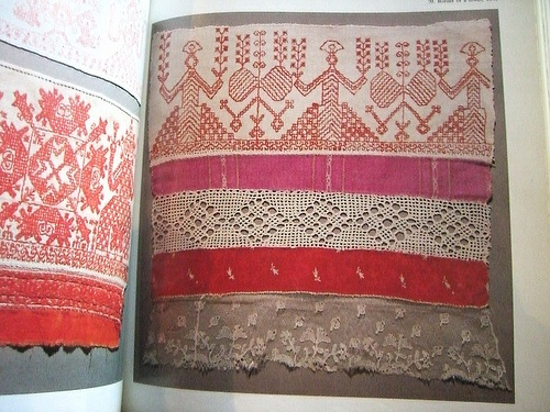 folk embroidery of the tver region. I want to go there some day