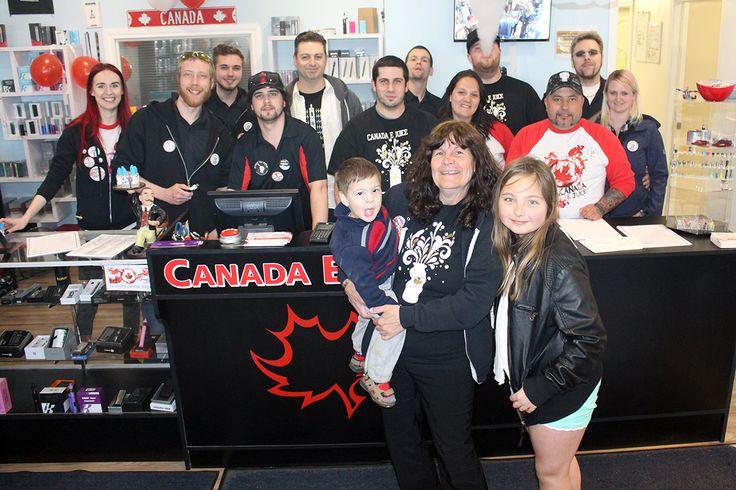 Team Canada Ejuice Vape Shop in Oshawa