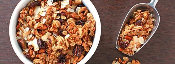 Pistachio, Cranberry and Coconut Granola Recipe