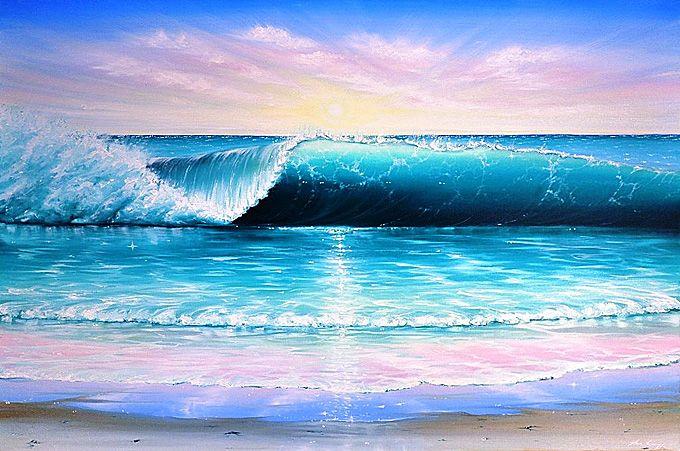 Marc Christian Kunze Cotw Surf Artist Canvas Painting