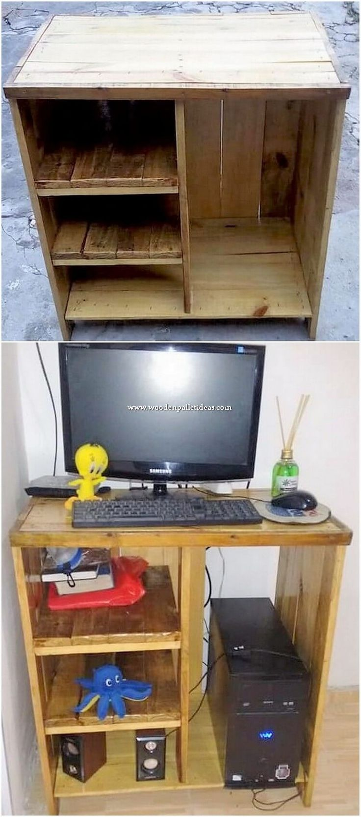 Creative DIY Projects of Old Wood Pallets Recycling ...
