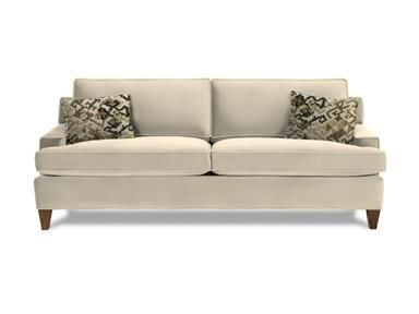 Shop For Rowe Chelsey Two Cushion Sofa, K130, And Other Living Room Sofas At