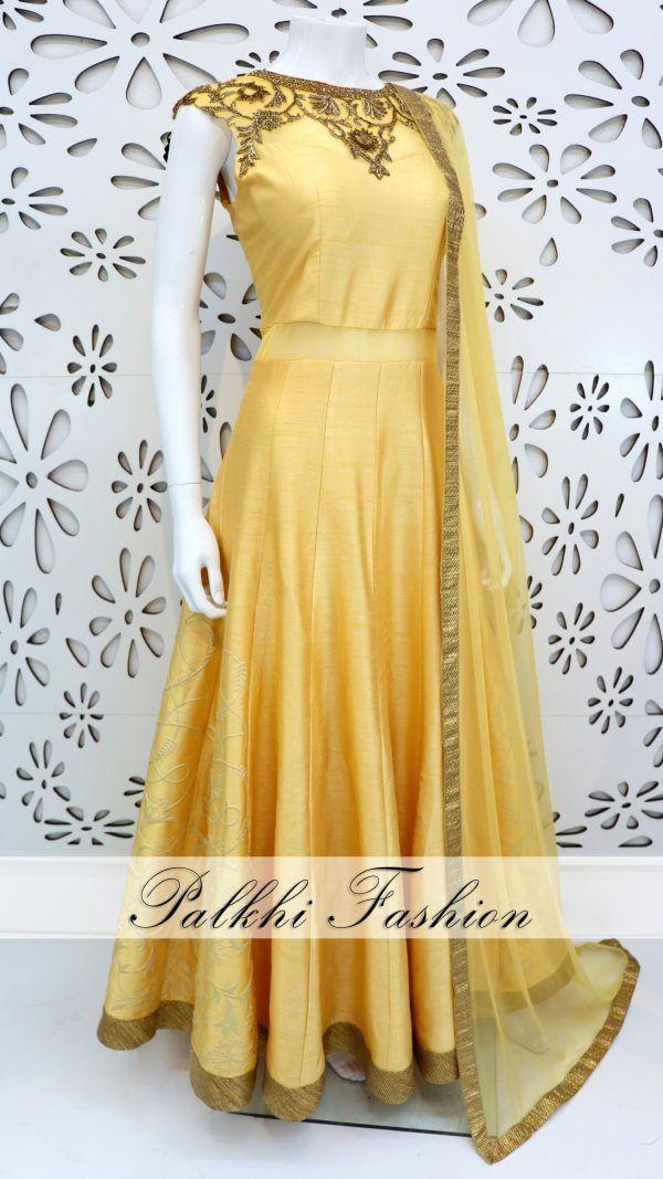 3b5a8a65ea Palkhi Fashion Exclusive Deep Pink/ Light Yellow Silk Chaniya Choli Elegant  Handwork Silk Blouse With Nice Designs Petite Stone Worked Duppata.