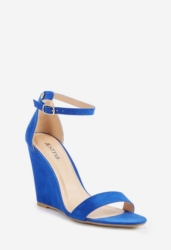 e5118b14801 Saba Wedge in Cobalt - Get great deals at JustFab