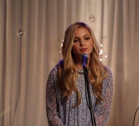 """Disney Playlist Video: Olivia Holt Singing """"Snowflakes"""""""