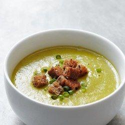Creamy Asparagus-Potato Soup  - EatingWell.com