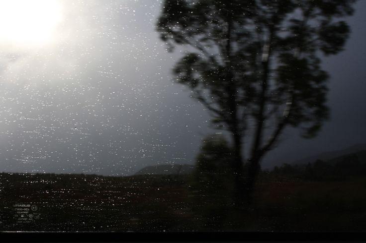 West Coast Tasmania. Driving home