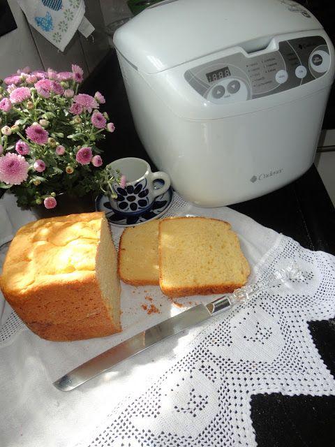 Toca do tricot e crochet: Minha receita de Broa de Fubá...feita na máquina de pão !!!