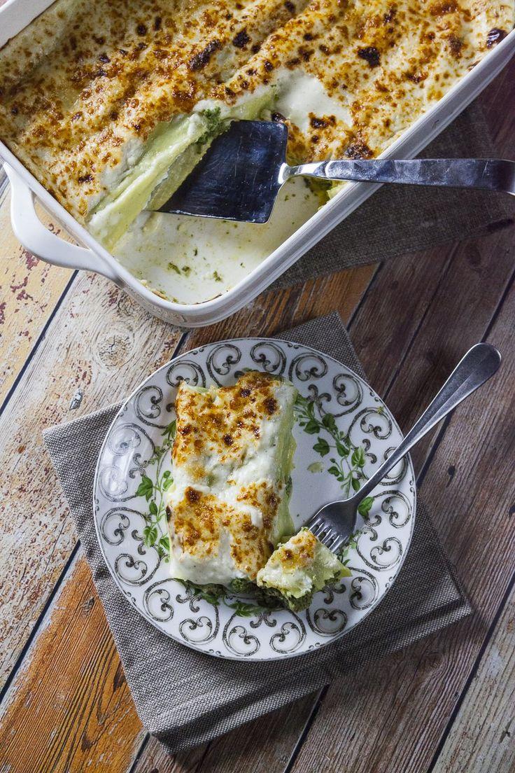 I cannelloni ricotta e spinaci