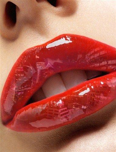 Hot red pepper #lips #art #fashion