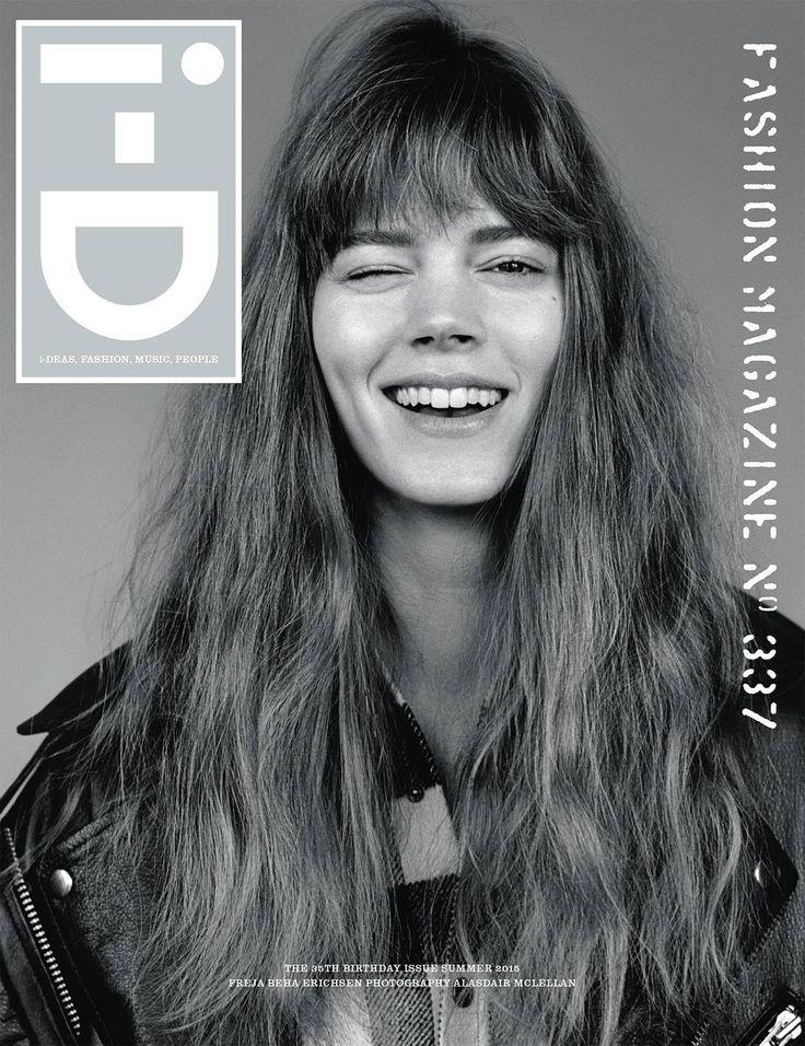 i-D Summer 2015 : The 35th Birthday Issue Freja Beha Erichsen by Alasdair McLellan