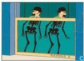 Carte postale - Tintin - Kuifje 021 Jansen en Janssen