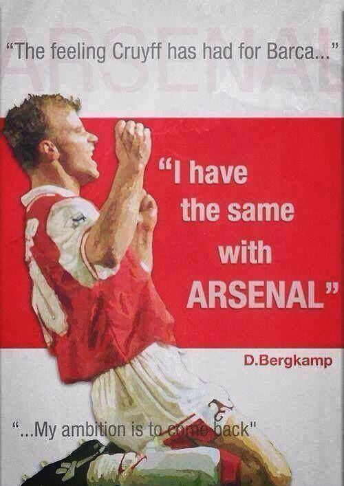 Dennis Bergkamp - Arsenal