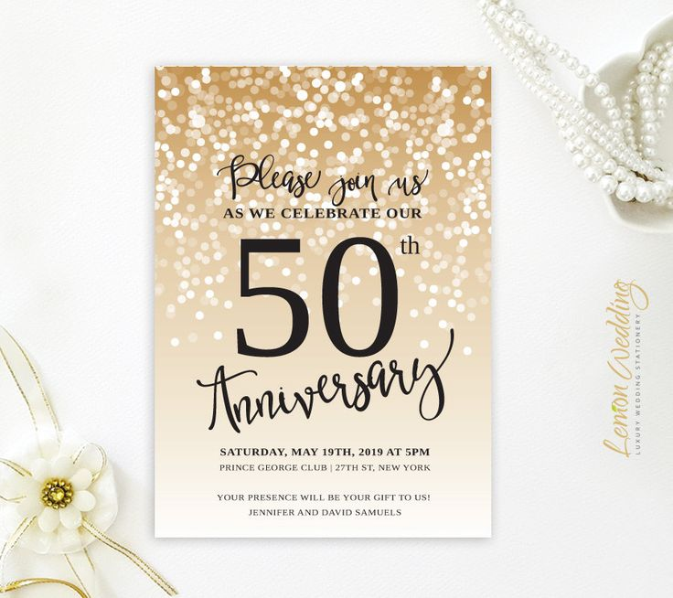 Top  Best Wedding Anniversary Invitations Ideas On