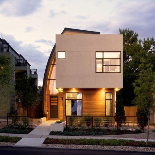 curve + flat: Studios Ht, Denver Colorado, Shield Houses, Architecture, Modern Home, Houses Design, Studios H T, Shieldhous, Modern Design