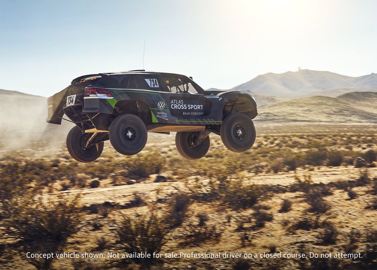 With Atlas Cross Sport R concept, Volkswagen races to the