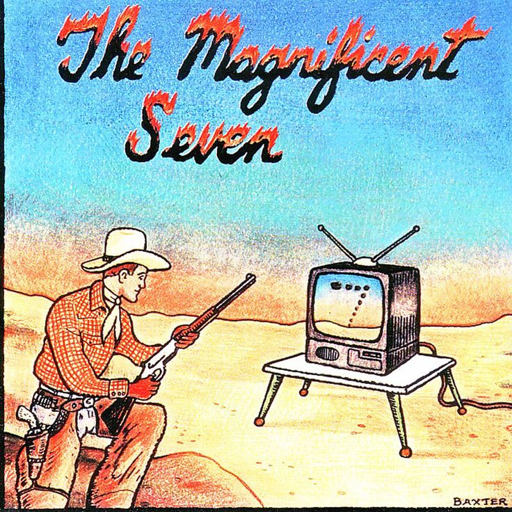Basta 3090862 | The Magnificent Seven | The Best of the Worst