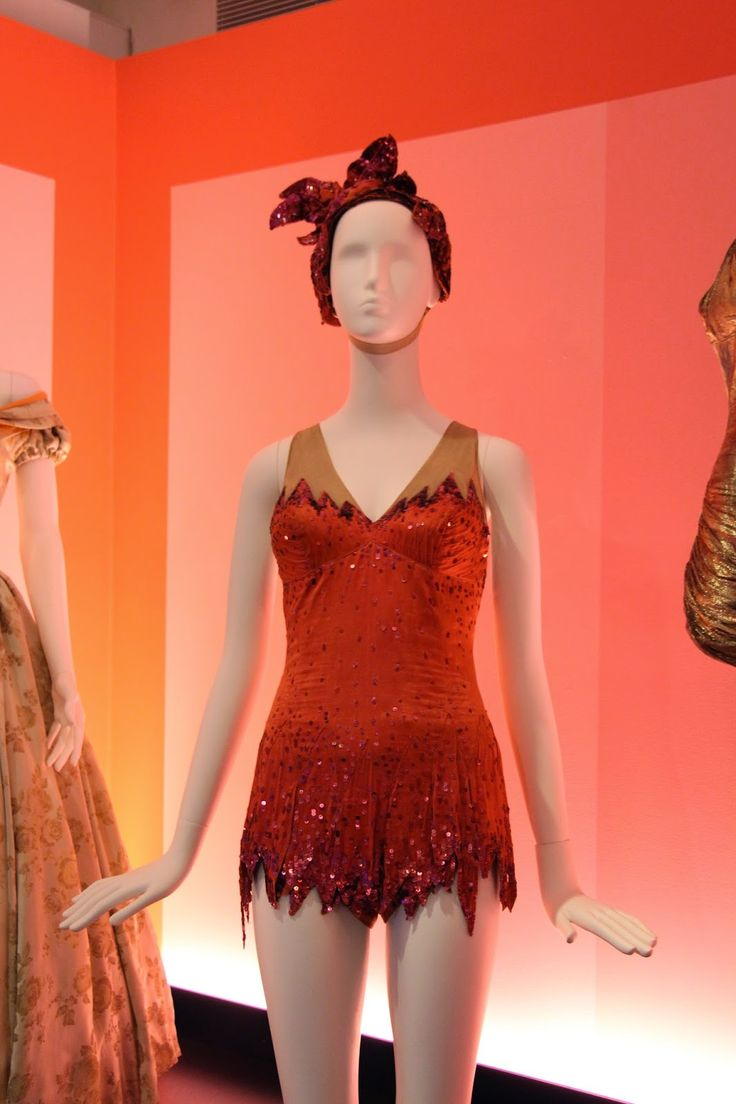 """THE VINTAGE FILM Esther Williams swimsuit from """"Million Dollar Mermaid""""COSTUME COLLECTOR"""