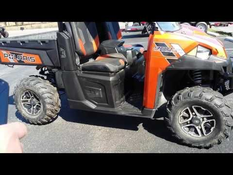 """2014 polaris ranger xp 900 deluxe review and walk around  This is a brief description of a 2014 polaris ranger xp 900 deluxe. For more info please visit pioneermotorcycles.com -~-~~-~~~-~~-~- Please watch: """"2015 Polaris Ranger walkaround""""  -~-~~-~~~-~~-~-  2014 polaris ranger xp 900..."""