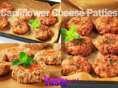 Tasty Pinch : Cauliflower Cheese Patties