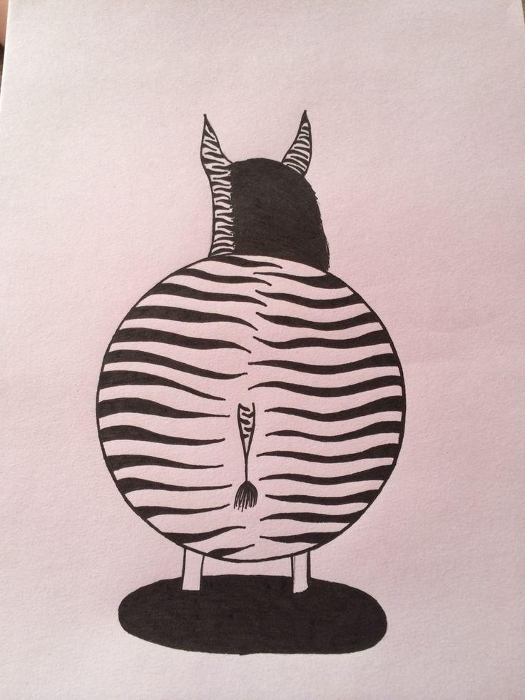 Tyk zebra
