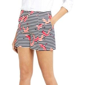 Oasis Flamingo Stripe Shorts