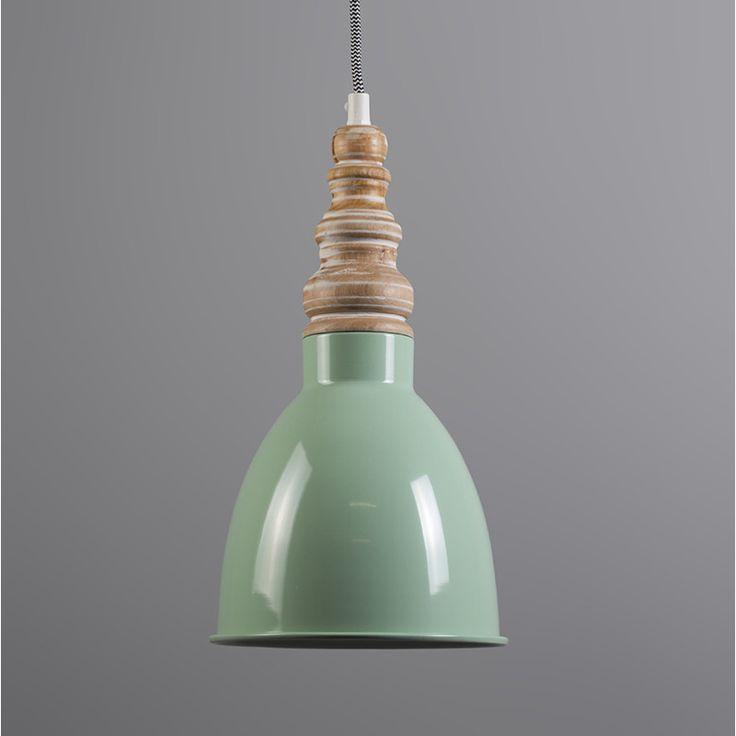 Lampa wisząca Oak miętowa zieleń