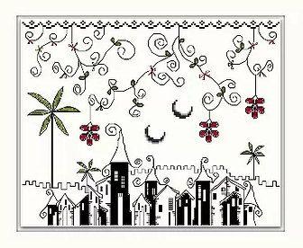 Las Mil y una noches  Cross Stitch Chart by Spanish Designer.