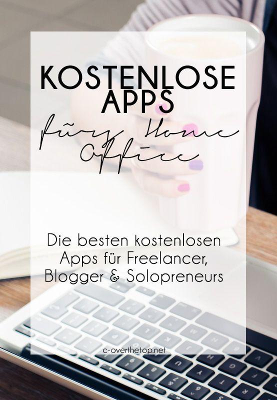 Kostenlose Apps für Dein Home Office - Virtual assistent hacks - Persönliche Assistentin Hacks